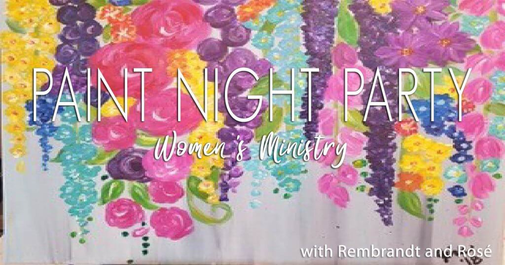 floral-womens-paint-night